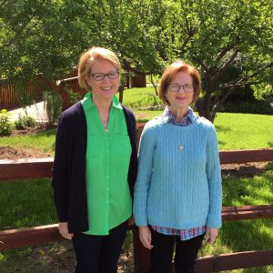Iris Apfel's sisters